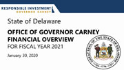 FY 2021 Governor's Recommended Budget Presentation